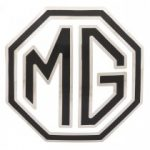 BADGE - GRILLE - B&W - TF/MGA