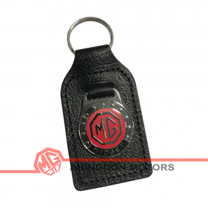 Key Fob - Midget - Red & Black