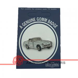 Badge / Pin - Midget Mk III - White
