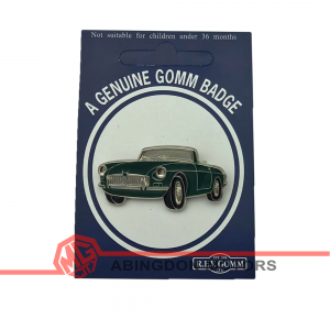 Badge / Pin - MGB - Green