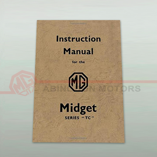 Instruction Manual for the MG Midget (Series TC)