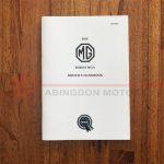 Driver'S Handbook: MGA 1500