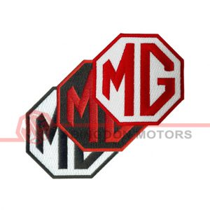 """3"""" Woven Patch - MG"""