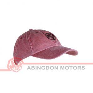 Cotton Cap - Vintage look - Red