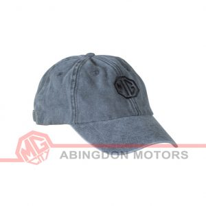 Vintage Look Cotton Cap - Black