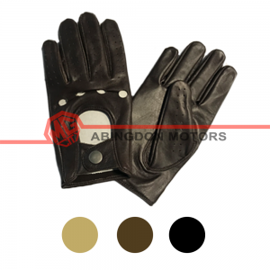 Men's Leather Driving Gloves - 3 Colours Available