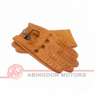 Leather (Lambskin) Driving Gloves - Tan