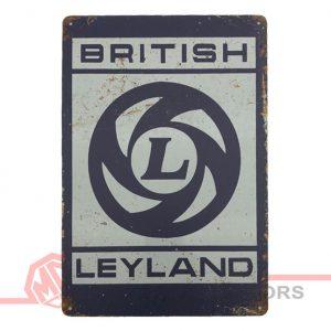 Tin Plate Sign - British Leyland