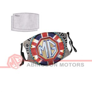 Face Mask with MG Car Company Design