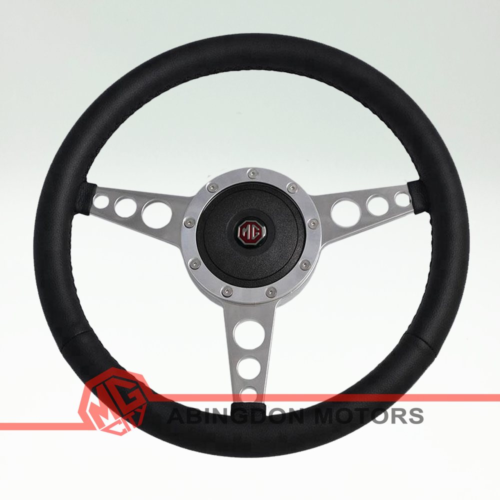 "15"" Leather Rim Steering Wheel"
